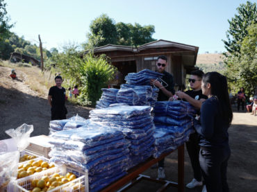 Blanket Donation in Mae
